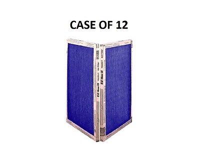 12 PACK -  MANY SIZES -  EZ Flow II Spun Fiberglass Furnace Filters Disposable 3