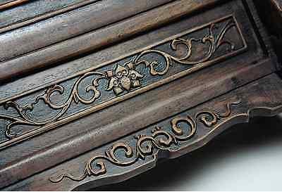 Chinese Qing Dynasty Wooden Screen 硯屏 /  KENBYO / W 25× H 26.5 [ cm ] 901g 10