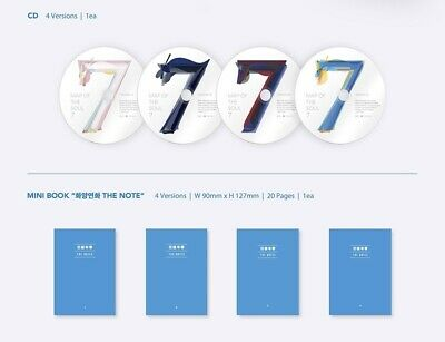 BTS MAP OF THE SOUL : 7 Album CD+Book+M.Book+Lyric+P.Card+Post+Sticker+F.Poster 5