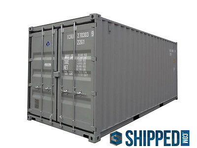 WE DELIVER SHIPPING CONTAINERS in FLORIDA 20' NEW SECURE HOME / BUSINESS STORAGE 4