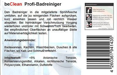 Badreiniger bathcare 10l Kanister Sanitärreiniger Kalklöser 3