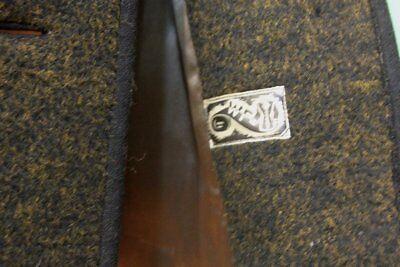 Uriger Trachten Walk Janker Gr 44/L schwarz-gold Schurwolle vintage Einzelstück 7