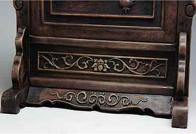 Chinese Qing Dynasty Wooden Screen 硯屏 /  KENBYO / W 25× H 26.5 [ cm ] 901g 3