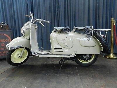 Puch RL 125 Oldtimer Roller 1952 mit österreischische Papiere Motorrad Klassiker 2