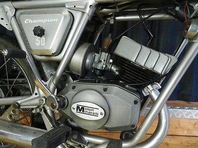 Velomotor Testi Champion Lusso Oldtimer Moped 1973 Klassiker Minarelli Motorrad