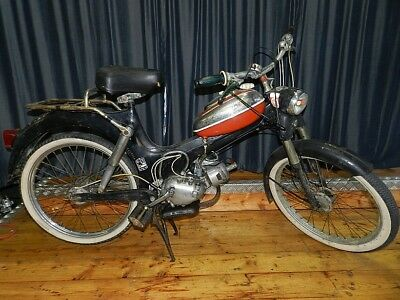 Puch MS 50 V Oldtimer Roller Moped Mofa Motorrad 1970