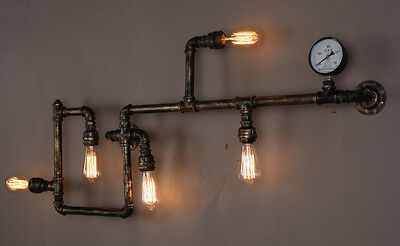 TURNER Wall light Lamp Vintage Retro Steampunk Industrial CE MARKED