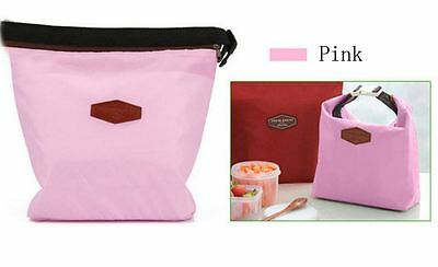 Thermal Insulated Cooler Waterproof Picnic Lunch Bag Lunch Box Storage Portable 6