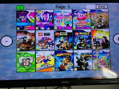 CONSOLE NINTENDO Wii usb loader gx +140GIOCHI +ACCESSORI Just Dance 2020 Mario 9