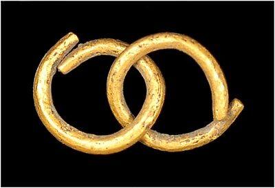 Celtic gold votive rings
