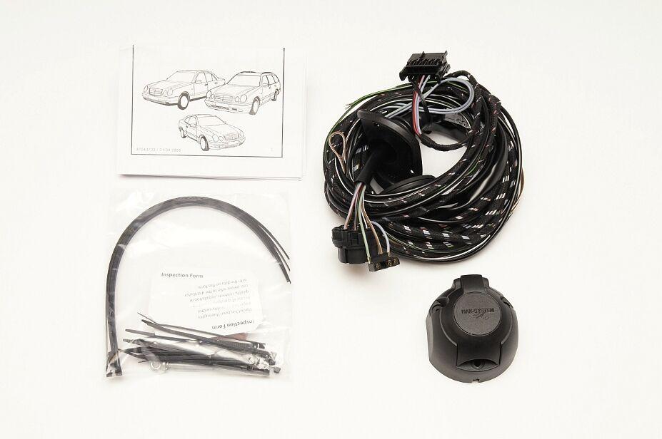 Anhängerkupplung Für Mercedes C208 CLK Cabrio 98-03 abnehmbar inkl 13pol spez ES