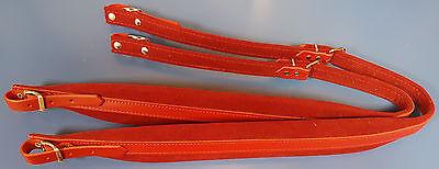 Paire de bretelles courroies sangles daccord/éon 6 CM 100/% Fabriqu/ées en Italie