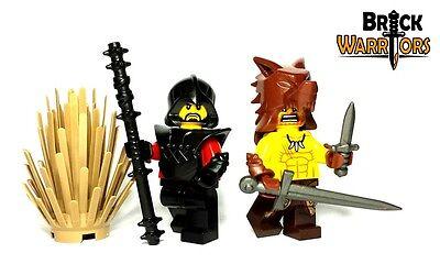 Custom WAIST Armor for Lego Minifigures Castle Viking Star Wars Kama DARK TAN