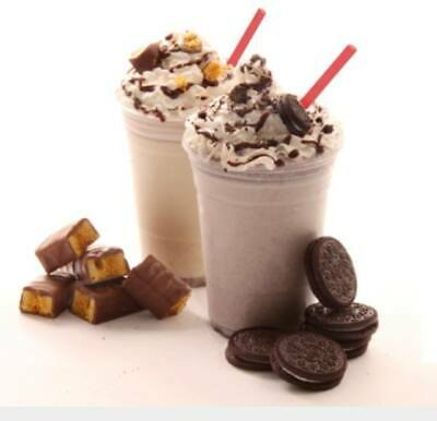 1000 Milkshake & Smoothie Cups With Dome Lids 8