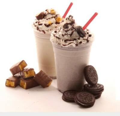 500 Milkshake And Smoothie Cups With Dome Lids 16  Oz 8