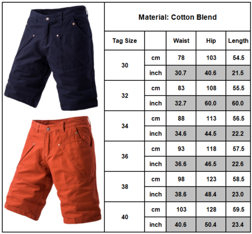 Mens Cargo Shorts Pants Army Combat Tactical Military Long Trousers Multi-Pocket 11