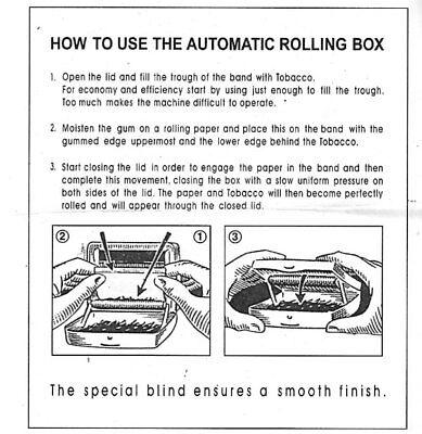 Metal Automatic Cigarette Tobacco Roller Roll Rolling Machine Box Case Maker Tin 7