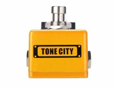 Tone City Golden Plexi Distortion Guitar Effect Compact Foot Pedal New 2