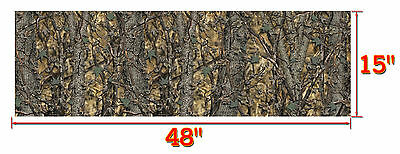 "3 CAMOUFLAGE TRUCK WRAP VINYL DECAL 48/""x15/"" 3M MATTE CAMO TREE PRINT DUCK CAMO.."