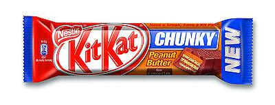 Nestle KITKAT CHUNKY PEANUT Kit Kat CHUNKY PEANUT 36 Bars (Full Box) 3
