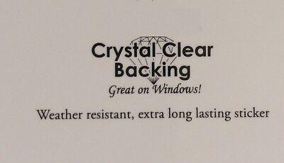"""CALI/'S FRENCH BULLDOG 4-1//4/"""" x 5/"""" die-cut window sticker Y734 #28"""