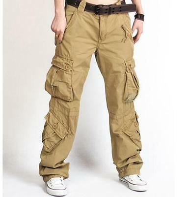 Occident Mens Hip Hops Skinny PU Pants Candy Fluorescence Stylish Overalls Cargo