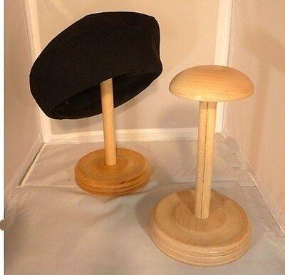 Hutständer Perückenständer Mützenständer Hüte,Holzständer,Gedrechselt 45,Neu