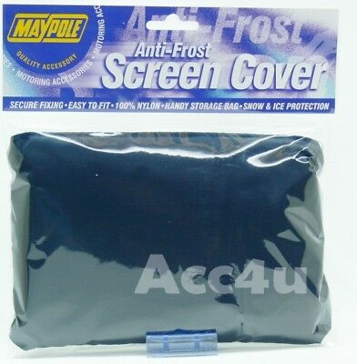 Maypole Car Front Windscreen Snow Black Ice Anti Frost Screen Cover Protector