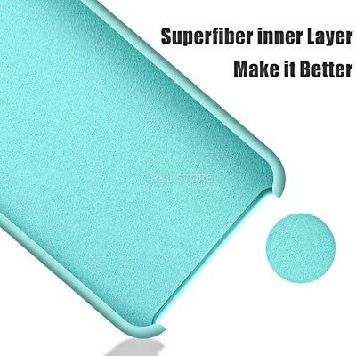COVER per Iphone X /XS /Max/ XR / 8 /7/ 6 Plus CUSTODIA Slim Silicone Genuine 2