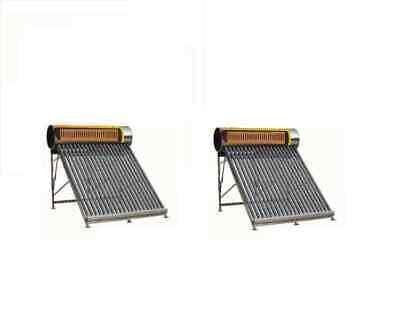 Pannello Solare Termico inox 18/10 Pressurizzato 200 Lt con scambiatore interno 3