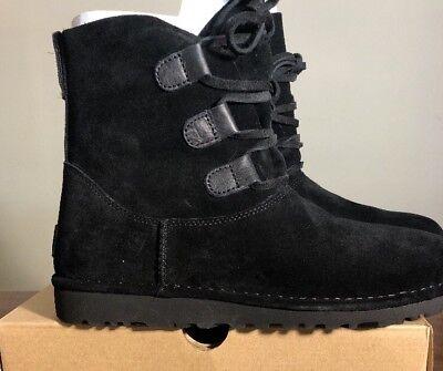 c603b2983c6 UGG ELVI WOMEN Boots Black Size 5 NEW* 100% AUTHENTIC With Box 1017534.