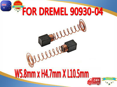 5 pairs Carbon Brushes For DREMEL 90930-04 100 200 275 285 300 395 595  3000