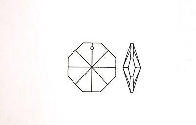 Octagon Koppe Oktagon Stern 2loch Kronleuchter Lüster Kristall 14mm 1