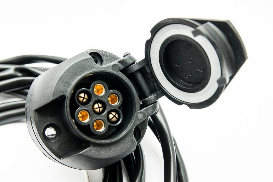 Für VW Passat B6 3C Variant 05-10 Anhängerkupplung abnehmbar SPEZ 7p E-Satz