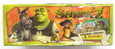 Shrek 2 Movie Panini Stickers Lot New In Package 8 Packs 2004