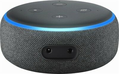 Amazon Echo Dot 3rd Generation w/ Alexa Voice Media Device - Charcoal 5