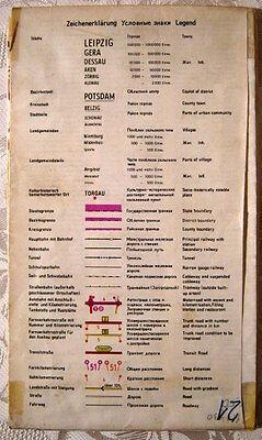 Verkehrsplan Karl-Marx-Stadt DDR 1974 Straßen Karte Chemnitz 1:20 000