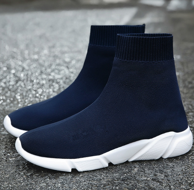BASKETS EFFET CHAUSSETTES Air sneakers trainers like speed