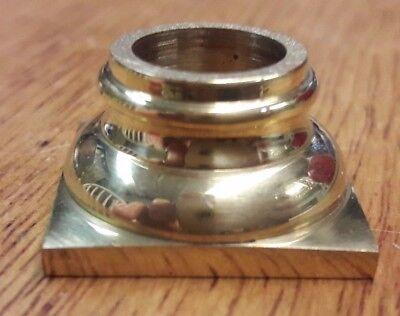 Small Sized New Longcase/grandfather Clock Cast Brass Capital.