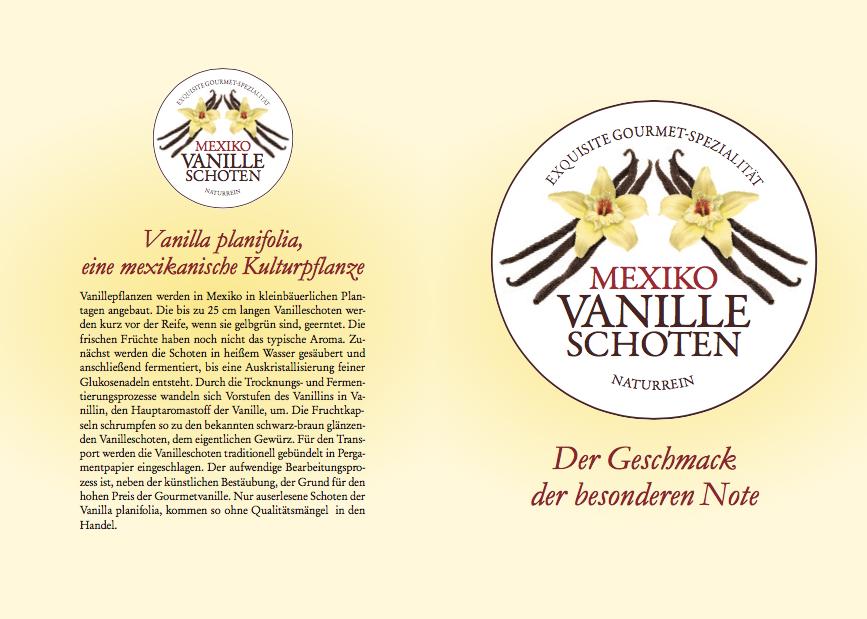 25 g Vanilleschoten, Tahiti Vanille, typisches kräftiges Aroma, 15-17 cm lang, 7