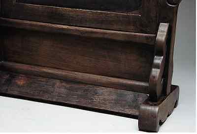 Chinese Qing Dynasty Wooden Screen 硯屏 /  KENBYO / W 25× H 26.5 [ cm ] 901g 9