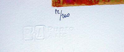 """GIANCARLO FANTINI- """"L'albero""""  - Serigrafia POLIMATERICA cm 50x70 3"""