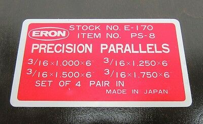 ERON PS-8 4pc. PARALLEL SET 3