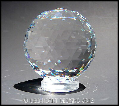 SWAROVSKI CRYSTAL 60mm BEST HANGING BALL Rainbow Maker Lilli Heart Designs 7