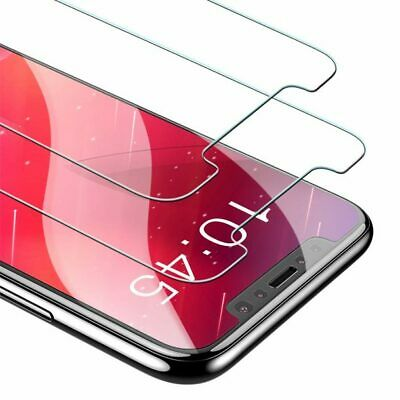 Glass Screen Protector for New iPhone XR XS Max XS X Tempered 2