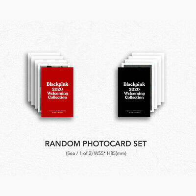 BLACKPINK Official PHOTOCARD Only 2020 WELCOMING COLLECTION Select Photo Card 4