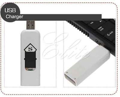 New Slim Usb Lighter Rechargeable Cigar Cigarette Flame less Electronic Lighter 5