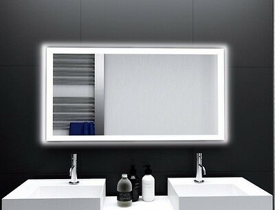 Häufig BADSPIEGEL LUX MIT LED Beleuchtung Badezimmerspiegel Bad Spiegel JO01