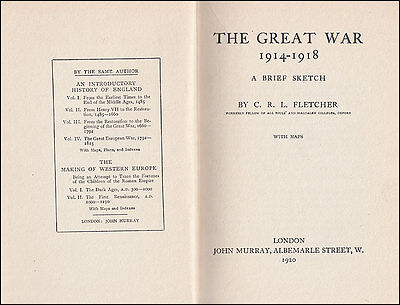 The Great War 1914-1918  YPRES SOMME Grand Fleet BALKANS Mesopotamia DARDANELLES 3