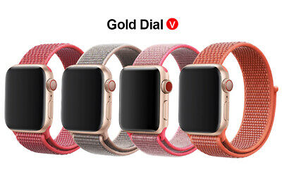 Woven Nylon Band For Apple Watch Sport Loop iWatch Series 4/3/2/1 38/42/40/44mm 9